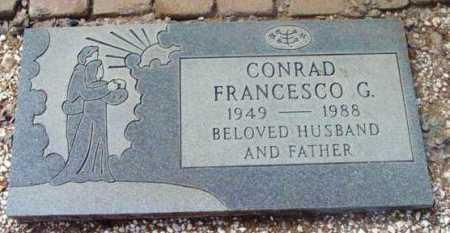 CONRAD, FRANCESCO G. - Yavapai County, Arizona | FRANCESCO G. CONRAD - Arizona Gravestone Photos