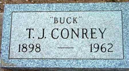CONREY, THOMAS JOSEPH  (BUCK) - Yavapai County, Arizona | THOMAS JOSEPH  (BUCK) CONREY - Arizona Gravestone Photos