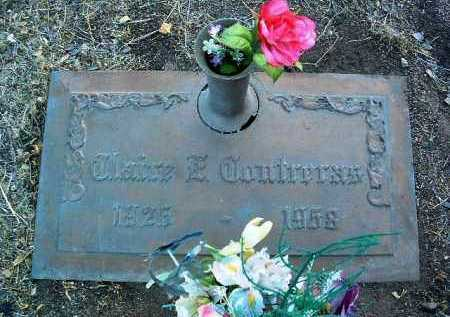 CONTRERAS, CLAIRE E. - Yavapai County, Arizona | CLAIRE E. CONTRERAS - Arizona Gravestone Photos
