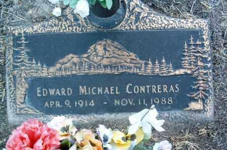 CONTRERAS, EDWARD M. - Yavapai County, Arizona | EDWARD M. CONTRERAS - Arizona Gravestone Photos
