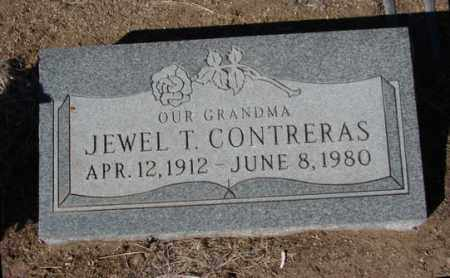CONTRERAS, JEWEL T. - Yavapai County, Arizona | JEWEL T. CONTRERAS - Arizona Gravestone Photos
