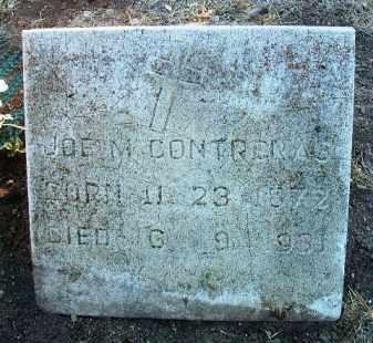 CONTRERAS, JOSEPH M. - Yavapai County, Arizona | JOSEPH M. CONTRERAS - Arizona Gravestone Photos