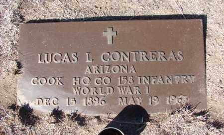 CONTRERAS, LUCAS L. - Yavapai County, Arizona | LUCAS L. CONTRERAS - Arizona Gravestone Photos