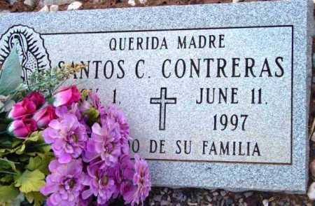 CONTRERAS, SANTOS C. - Yavapai County, Arizona | SANTOS C. CONTRERAS - Arizona Gravestone Photos