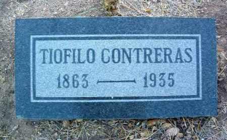CONTRERAS, TIOFILO - Yavapai County, Arizona   TIOFILO CONTRERAS - Arizona Gravestone Photos