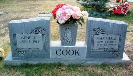 COOK, MARTHA BELLE - Yavapai County, Arizona   MARTHA BELLE COOK - Arizona Gravestone Photos