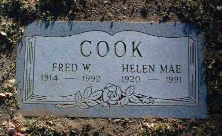 MOSELEY COOK, HELEN MAE - Yavapai County, Arizona | HELEN MAE MOSELEY COOK - Arizona Gravestone Photos