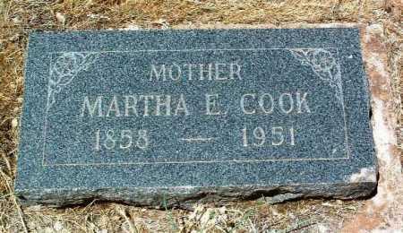 COOK, MARTHA ELLEN - Yavapai County, Arizona | MARTHA ELLEN COOK - Arizona Gravestone Photos