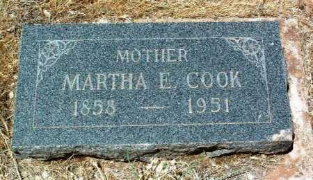 COOK, MARTHA ELLEN - Yavapai County, Arizona | MARTHA ELLEN COOK - Arizona Gravestone Photos