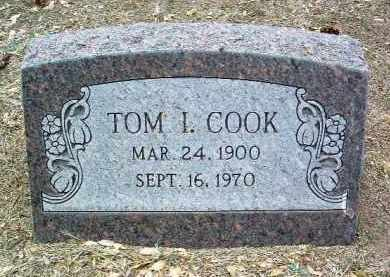 COOK, THOMAS IVY (TOM) - Yavapai County, Arizona | THOMAS IVY (TOM) COOK - Arizona Gravestone Photos