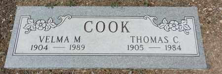 WRIGHT COOK, VELMA M. - Yavapai County, Arizona | VELMA M. WRIGHT COOK - Arizona Gravestone Photos