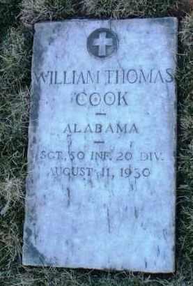 COOK, WILLIAM THOMAS - Yavapai County, Arizona | WILLIAM THOMAS COOK - Arizona Gravestone Photos