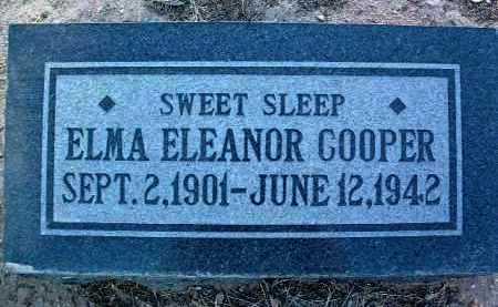 COOPER, ELMA ELEANOR - Yavapai County, Arizona | ELMA ELEANOR COOPER - Arizona Gravestone Photos