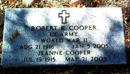 COOPER, JEANNE - Yavapai County, Arizona   JEANNE COOPER - Arizona Gravestone Photos