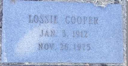 COOPER, LOSSIE - Yavapai County, Arizona | LOSSIE COOPER - Arizona Gravestone Photos