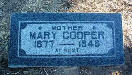 MANDERSHIDE COOPER, MARY - Yavapai County, Arizona | MARY MANDERSHIDE COOPER - Arizona Gravestone Photos