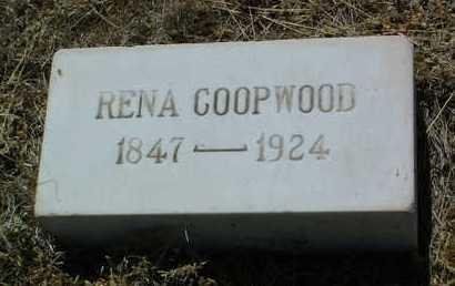 GREEN COOPWOOD, RENA - Yavapai County, Arizona | RENA GREEN COOPWOOD - Arizona Gravestone Photos