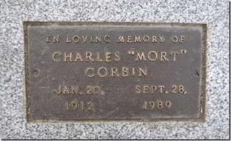 CORBIN, CHARLES (MORT) - Yavapai County, Arizona | CHARLES (MORT) CORBIN - Arizona Gravestone Photos
