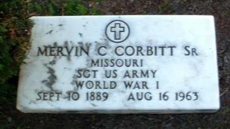 CORBITT, MERVIN C., SR. - Yavapai County, Arizona | MERVIN C., SR. CORBITT - Arizona Gravestone Photos