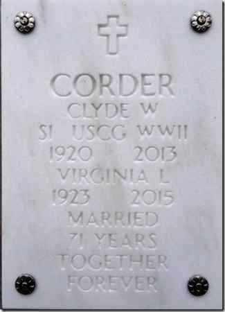 CORDER, CLYDE WARREN - Yavapai County, Arizona | CLYDE WARREN CORDER - Arizona Gravestone Photos
