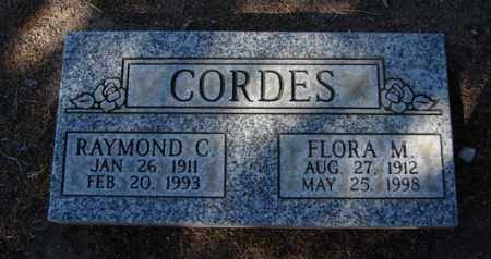YOUNG CORDES, FLORA MARIE - Yavapai County, Arizona | FLORA MARIE YOUNG CORDES - Arizona Gravestone Photos