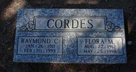 CORDES, RAYMOND CHASTINE - Yavapai County, Arizona | RAYMOND CHASTINE CORDES - Arizona Gravestone Photos