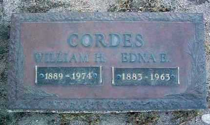 CORDES, WILLIAM HARRISON - Yavapai County, Arizona | WILLIAM HARRISON CORDES - Arizona Gravestone Photos