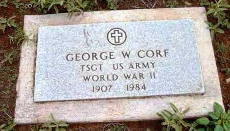 CORF, GEORGE W. - Yavapai County, Arizona | GEORGE W. CORF - Arizona Gravestone Photos