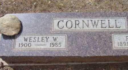 CORNWELL, WESLEY W. - Yavapai County, Arizona | WESLEY W. CORNWELL - Arizona Gravestone Photos