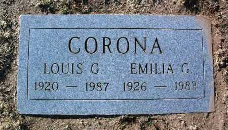 CORONA, LOUIS GARCIA - Yavapai County, Arizona | LOUIS GARCIA CORONA - Arizona Gravestone Photos
