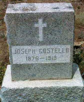 COSTELLO, JOSEPH - Yavapai County, Arizona | JOSEPH COSTELLO - Arizona Gravestone Photos