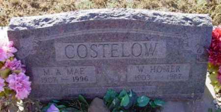 COSTELOW, M. A. MAE - Yavapai County, Arizona | M. A. MAE COSTELOW - Arizona Gravestone Photos