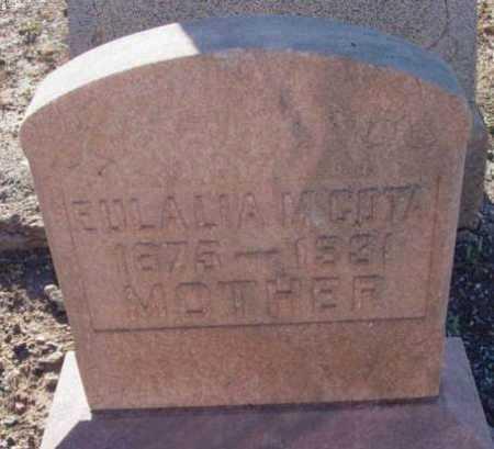 MOISA COTA, EULALIA M. - Yavapai County, Arizona | EULALIA M. MOISA COTA - Arizona Gravestone Photos