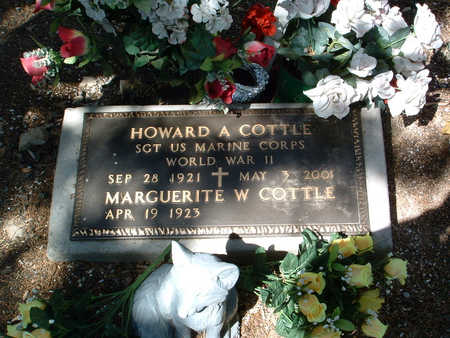 COTTLE, MARGUERITE W. - Yavapai County, Arizona | MARGUERITE W. COTTLE - Arizona Gravestone Photos