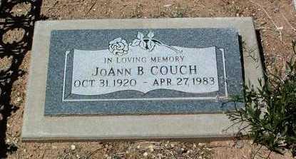 COUCH, JOANN B. - Yavapai County, Arizona | JOANN B. COUCH - Arizona Gravestone Photos
