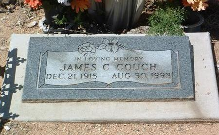 COUCH, JAMES CECIL - Yavapai County, Arizona   JAMES CECIL COUCH - Arizona Gravestone Photos