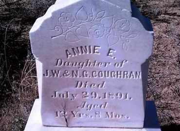 COUGHRAN, ANNIE E. - Yavapai County, Arizona | ANNIE E. COUGHRAN - Arizona Gravestone Photos
