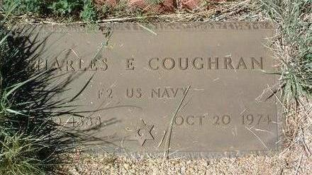COUGHRAN, CHARLES E. - Yavapai County, Arizona | CHARLES E. COUGHRAN - Arizona Gravestone Photos