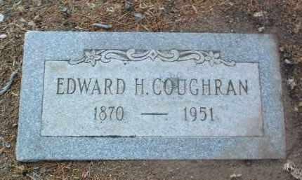 COUGHRAN, EDWARD HENRY - Yavapai County, Arizona   EDWARD HENRY COUGHRAN - Arizona Gravestone Photos