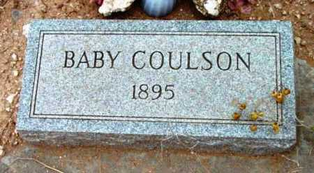 COULSON, BABY - Yavapai County, Arizona | BABY COULSON - Arizona Gravestone Photos