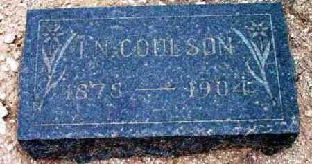 COULSON, ISAAC N. - Yavapai County, Arizona   ISAAC N. COULSON - Arizona Gravestone Photos