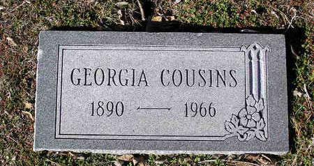 COUSINS, GEORGIA M. - Yavapai County, Arizona   GEORGIA M. COUSINS - Arizona Gravestone Photos