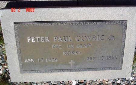COVRIG, PETER PAUL, JR. - Yavapai County, Arizona | PETER PAUL, JR. COVRIG - Arizona Gravestone Photos