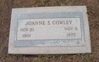 COWLEY, JOANNE S. - Yavapai County, Arizona | JOANNE S. COWLEY - Arizona Gravestone Photos