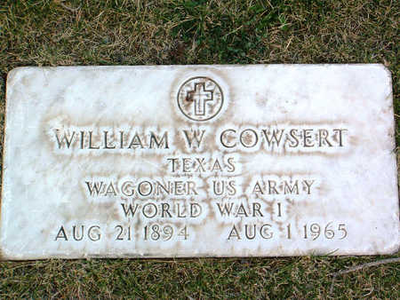 COWSERT, WILLIAM - Yavapai County, Arizona | WILLIAM COWSERT - Arizona Gravestone Photos