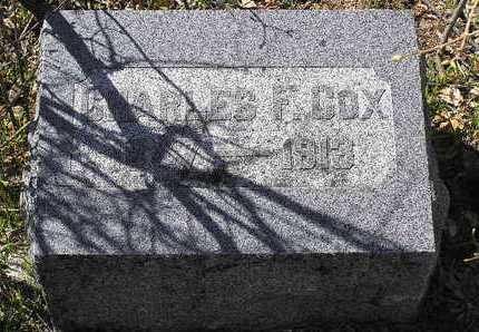 COX, CHARLES FRANKLIN - Yavapai County, Arizona | CHARLES FRANKLIN COX - Arizona Gravestone Photos