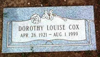 FERGUSON COX, DOROTHY L. - Yavapai County, Arizona | DOROTHY L. FERGUSON COX - Arizona Gravestone Photos