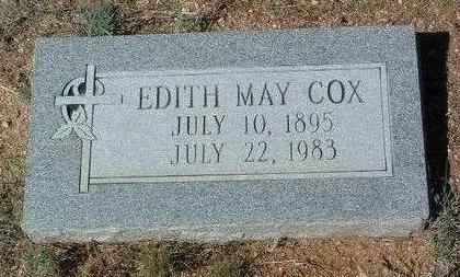COX, EDITH MAY - Yavapai County, Arizona | EDITH MAY COX - Arizona Gravestone Photos