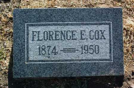 COX, FLORENCE EDITH - Yavapai County, Arizona | FLORENCE EDITH COX - Arizona Gravestone Photos