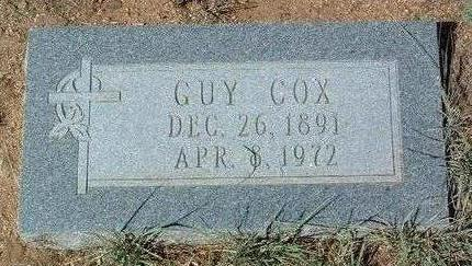 COX, R. GUY - Yavapai County, Arizona | R. GUY COX - Arizona Gravestone Photos